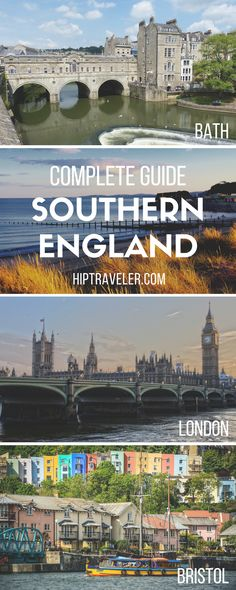 The ultimate guide to exploring England's south including stops in London, Bath, Bristol & Devon. Practical tips + best things to see and do. Travel in England. | Blog by HipTraveler: Bookable Travel Stories from the World's Top Travelers