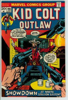 Kid Colt Outlaw 166 (FN/VF 7.0)
