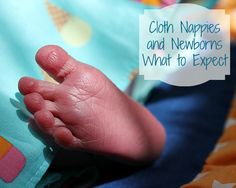 Newborns and Cloth Nappies - What to Expect - Petit Mom