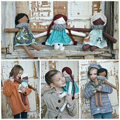 Doll Tutorial and free pattern download! So gorgeous!