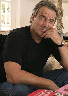Soap Opera Stars, Soap Stars, Eric Braeden, Number One Song, Men With Grey Hair, Best Soap, Young And The Restless, Raining Men, Older Men
