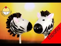 Cake pops de Cebra - video tutorial de Cupcake Addiction