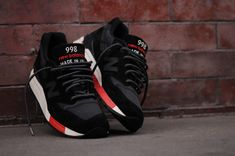 New Balance 998 - Black / Red (Re-issue Global Exclusive)   Sneaker   Kith NYC