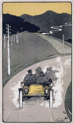 Maurice Blais -  Mountain Road, c.1900-10.