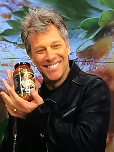Jon on The Chew today with his dad...