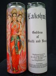 Lakshmi Altar Candle
