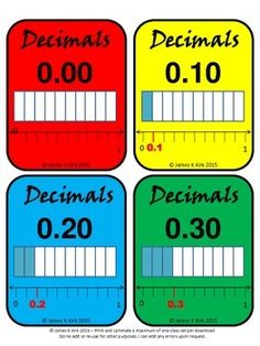 Decimals Card (Doubles) (Now in color / colour)Decimal Cards (Doubles) (Now in color)31 Decimal Flash Cards   - 1 decimal and image per card   - Some with additional number lines or fractions to compare too  - 4 per A4 sheet   - Suitable to print and laminate in color    (We also have a black and white version to download)Designed specifically for level 3 - 5 learners and anyone wishing to revise or learn to compare decimals or fractions.These high quality printable decimal cards are a great…