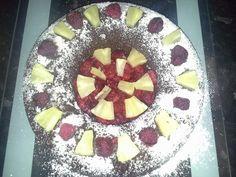 couronne au chocolat et ses fruit