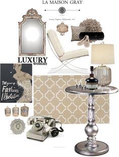 """Luxury Woman"" Designed by La Maison Gray"