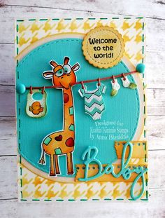 Marianne Design, Baby Cards, I Card, Make Your Own, Stencils, Doodles, Challenges, Pattern, Fun