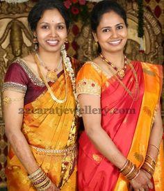 Jewellery Designs: Light Weight Traditional Jewelry