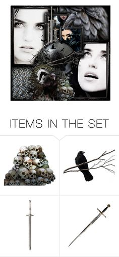"""""""The Morrígan"""" by faylane ❤ liked on Polyvore featuring art and modern"""