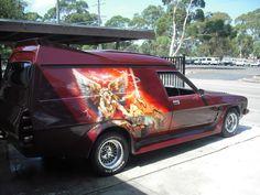 custom panel van - Google Search Australian Muscle Cars, Aussie Muscle Cars, All Cars, Nice Cars, Old School Vans, Girls Driving, Van Interior, Custom Vans, Station Wagon