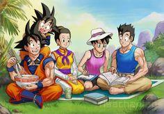 Goku and familia - Google Search