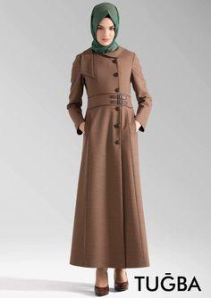 C343 #Tuğba #Manto Camel rengi ile Tugbaonline.com'da satışta,  Şık tasarımı ve kumaş deseni ile C343 modeli bu kış vazgeçilmez olacak.  http://www.tugbaonline.com/urun_izle.aspx?md=1478