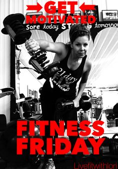 FITNESS FRIDAY! You've got this!! Don't limit your challenges, challenge your limits. Punch today in the face!