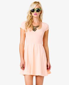 www.fashionablecauses.org    Forever21- A knit dress featuring a crisscross back. Scoop neckline. Short sleeves. Shirred waist.    Spring 2013 fashion trends