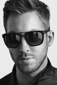 Calvin Harris for Emporio Armani. [Photo by Boo George]