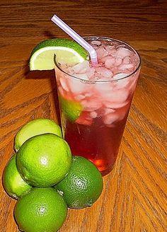 Better-than-Sonic Homemade Diet Cherry Limeade