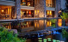 Pulehu-Italian Restaurant - great food and great atmosphere Lahaina, Maui, HI at the Westin Ka'anapali Ocean Resort Villas