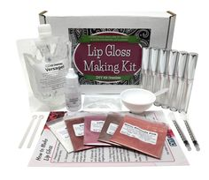 DIY Lip Gloss Making Kit - DIY Lip Gloss Making Kit The Effective Pictures We Offer You About Accessories flatlay A quality p - Best Lip Gloss, Diy Lip Gloss, Lip Gloss Containers, Lip Gloss Homemade, Pigment Powder, Homemade Soap Recipes, Diy Blog, Lip Kit, Party