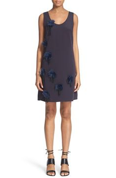 3.1 PHILLIP LIM Peony Embroidered Silk Dress. #3.1philliplim #cloth #
