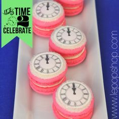 Couture Clock Macarons original macaron by Le Pop Shop leaders of the Macaron Revolution! Retail location opening Spring Shipping to US Le Pop, Picnic Foods, Breakfast Items, Savoury Dishes, Spring 2014, Cooking Timer, Macarons, Revolution, Smoothies