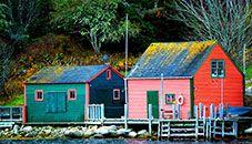 Fishing Village, Blandford (Nova Scotia, Canada)