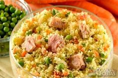 Receita de Couscous marroquino com atum em receitas de salgados, veja essa e outras receitas aqui!