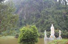 Boddhisattva on a dragon, Wat Phukaolak, Nopphitam, Nakhon Si Thammarat