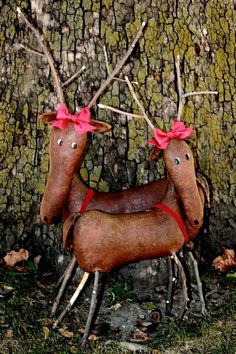 Instant Download E-Pattern Deer In The by FiddlestixDesign on Etsy
