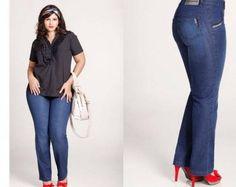 papo serio demulher: Modelos de calças para gordinhas