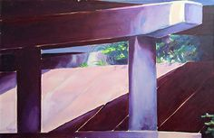 Overpass Brad Blackman oil on canvas, 24 x 30 inches. 2003