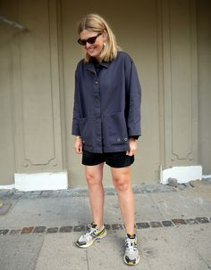 27.08.18   Fashionpolish Acne Studios, Prada, 18th, Women's Fashion, Shirt Dress, Shorts, My Style, Jeans, Summer