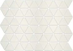 Seek Retro Treble Glazed Porcelain Triangle Mosaic Tiles