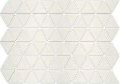 Seek Retro Treble Glazed Porcelain Triangle Mosaic Tiles / $15/sf