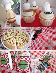 Kid's Pizza Party @ handmadehilarity.com  Pappa's Pizzeria Details