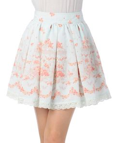 Merry-go-round floral SK Kawaii Fashion, Cute Fashion, Daily Fashion, Girl Fashion, Japanese Outfits, Japanese Fashion, Kawaii Love, Pretty Outfits, Cool Outfits