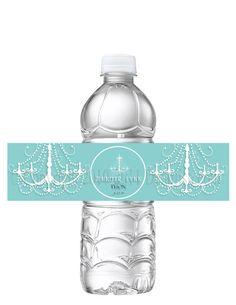 PRINTABLE Tiffany Blue Bridal Shower Wedding Shower by Detailish, $8.00