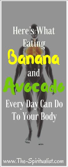 + Avocado = This is What Will Happen to Your Body?Banana + Avocado = This is What Will Happen to Your Body? Health And Fitness Tips, Health Diet, Health And Wellness, Kidney Health, Mental Health, Health Care, Fitness Workouts, Healthy Nutrition, Nutrition Tips