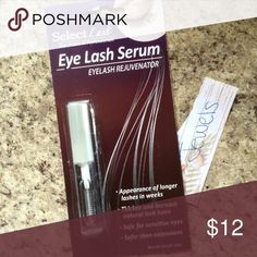 x2 ✨Eyelash Growth Serum✨ BRAND NEW/no trades or holds. Smells good. FOR TWO CONTAINERS Makeup False Eyelashes