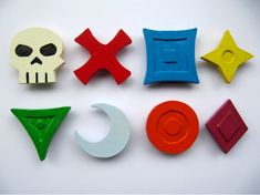 WoW Magnets World of Warcraft Raid Marks Nerd Gamer by LeyItems