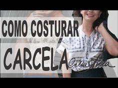 COMO COSTURAR CARCELA/PATTE EM VESTIDOS E BLUSAS COM CÉLIA ÁVILA - YouTube