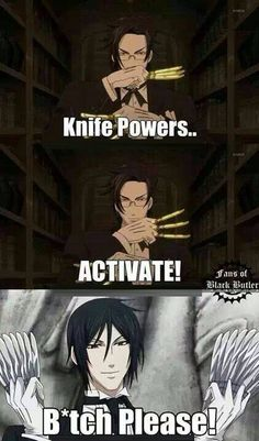 Knife Powers.. ACTIVATE!!