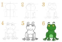 Trait Vertical, Comics, Color Pencil Picture, Learn To Draw, Easy Drawings, Children, Cartoons, Comic, Comics And Cartoons