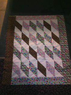 Baby quilt for @Nikki Anderson  via Punk-Rock Martha