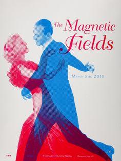 Magnetic Fields Poster by Brandon Heath