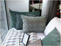 Courtepointe Shirt coloris Argent - caravane Bedroom Storage, Decoration, Duvet, Sweet Home, Shabby, Cushions, Textiles, Throw Pillows, Design