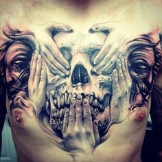 Mind Blowing Tattoos (23 Photos)