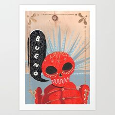 Don't You Miss Mexico? Art Print by Hyein Lee | Society6